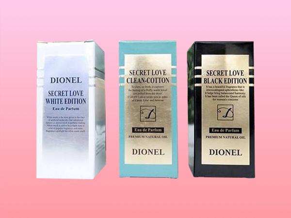 Hình ảnh hộp nước hoa vùng kín Dionel Secret Love