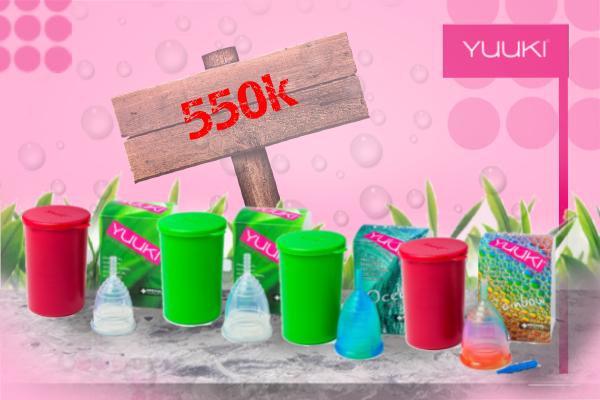 Giá bán của Cốc Nguyệt San Yuuki